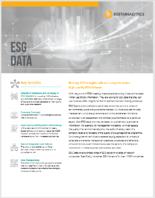 ESG DATA Cover