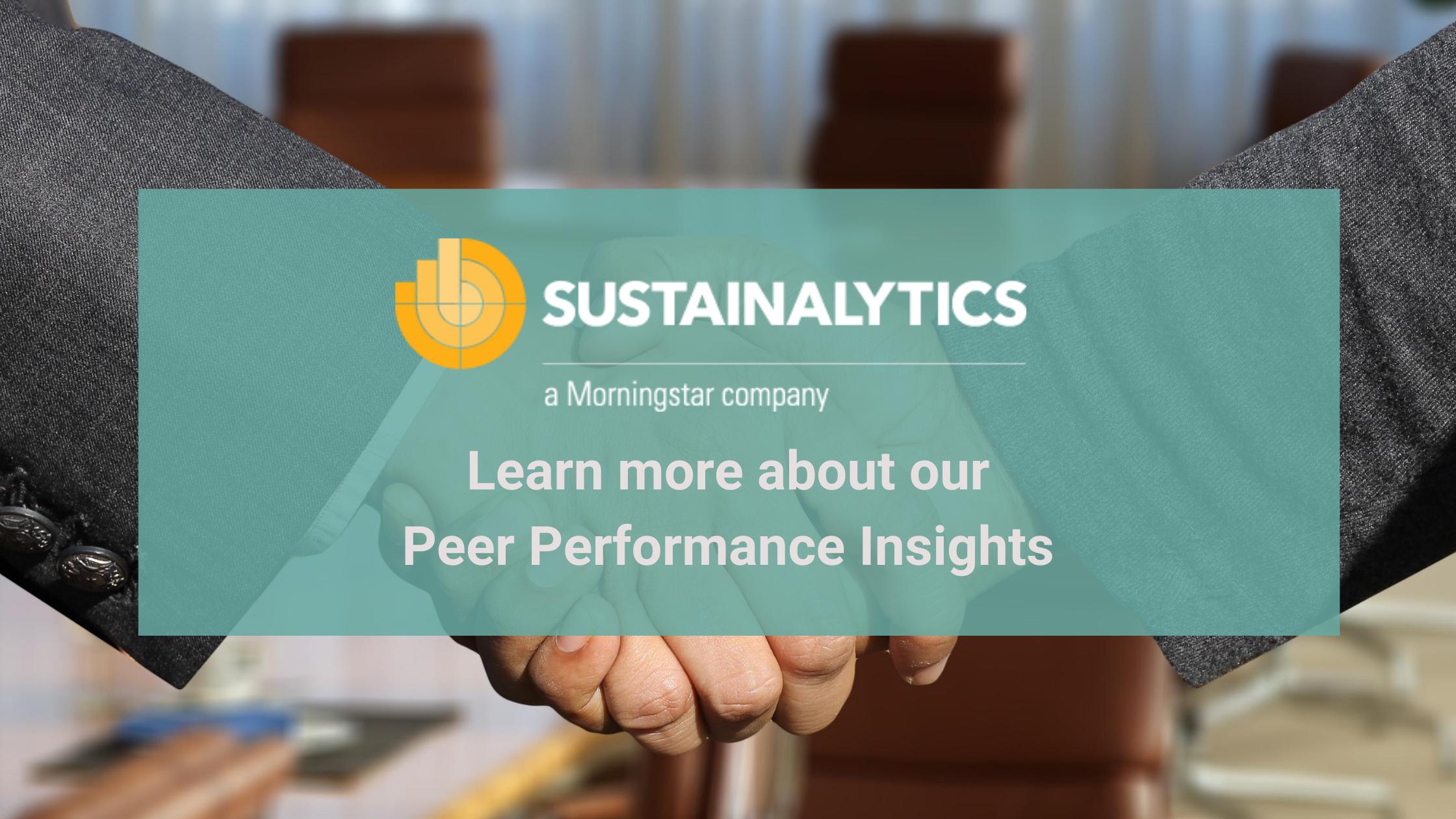 Peer performance insights