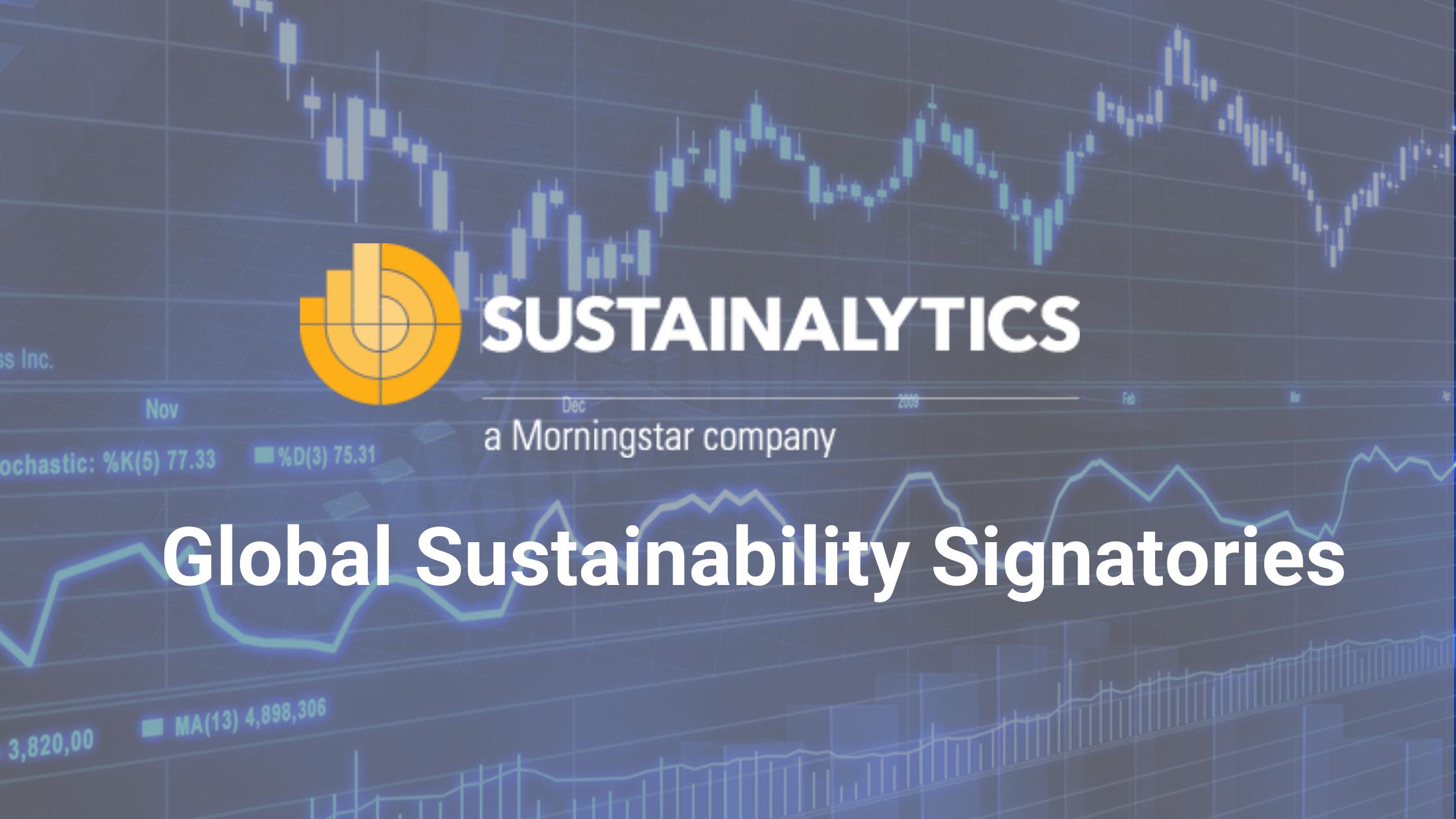 global sustainability signatories