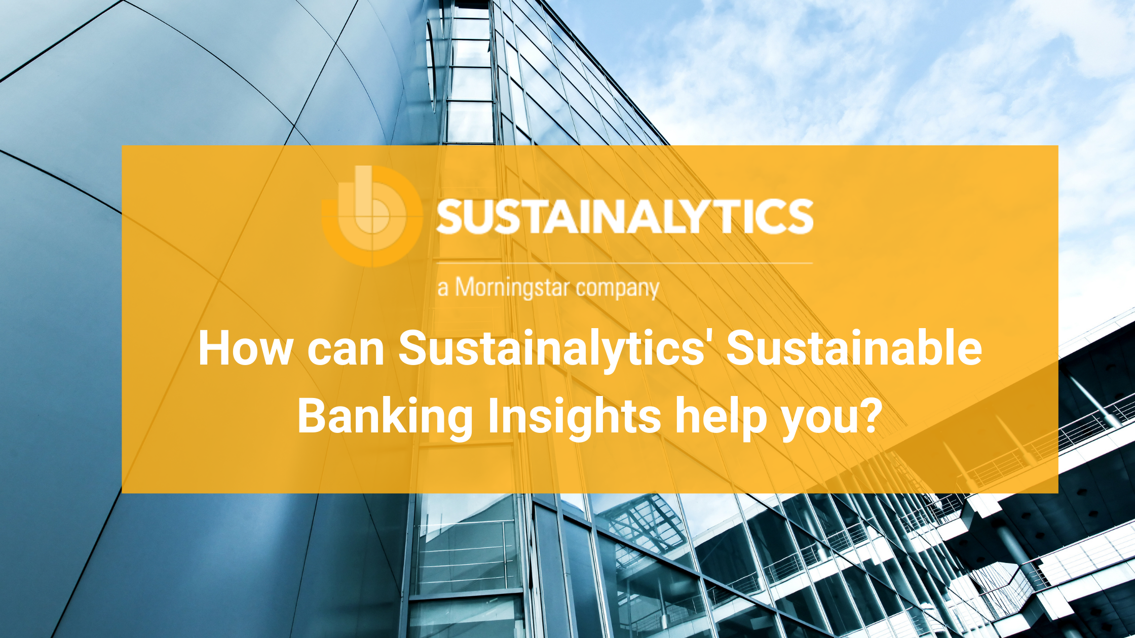 sustainable banking insights