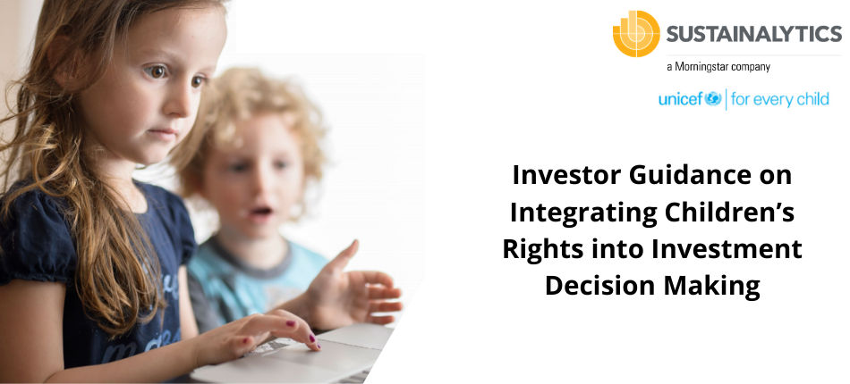 unicef investor guidance